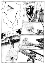 Red Baron comic page one
