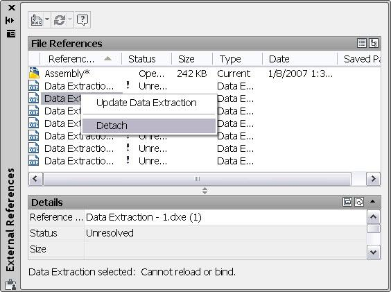 What New in AutoCAD?: External References