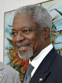 Kofi Annan, dez à frente da ONU
