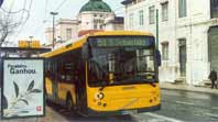 Um autocarro dos mais modernos da Carris