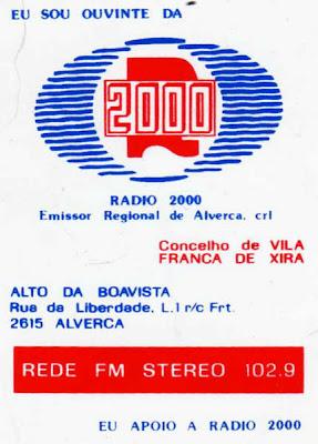 A bandeira da 2000