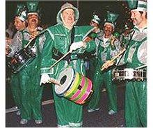 AJJ num desfile do Carnaval Madeirense