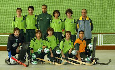 Os campeões Nacionais de Infantis