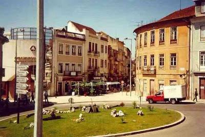 Centro da cidade de Águeda