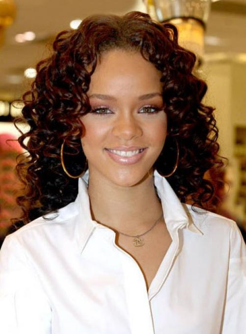 Awe Inspiring 30 Mind Blowing Curly Weave Hairstyles Creativefan Hairstyles For Women Draintrainus
