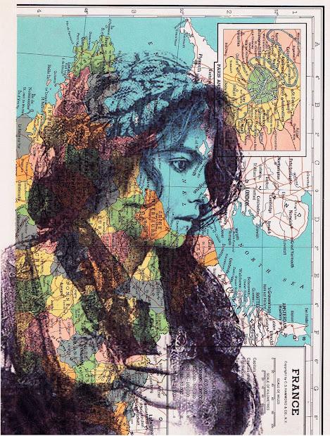 Jackie Bassett Collage Art