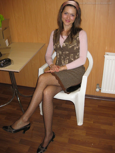 You ladyboy pantyhose masturbation