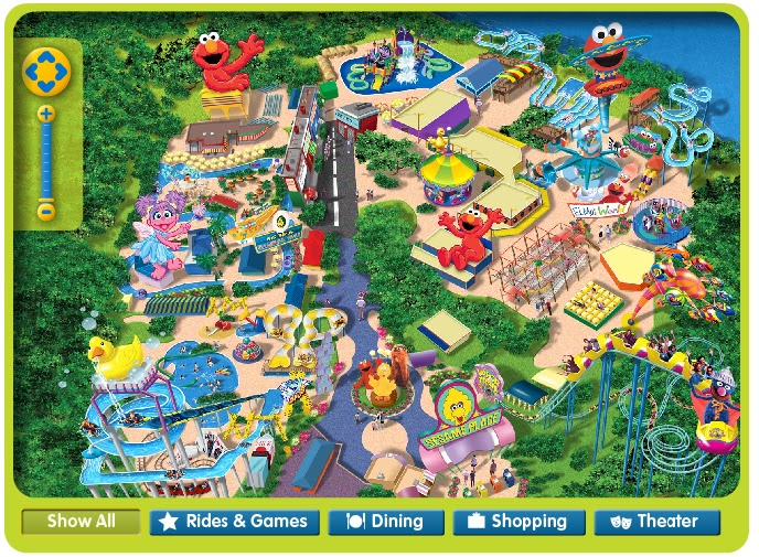 The Optimistic Housewife: Sesame Place = so fake, I d it! on michigan's adventure map, busch gardens map, legoland map, canobie lake park map, idlewild and soak zone map, six flags map, hersheypark map, kings island map, disneyland map, knoebels map, knott's berry farm map, carowinds map, king of prussia mall map, adventure island map, aquatica map, discovery cove map, kings dominion map, dorney park map, cedar point map, peddler's village map,