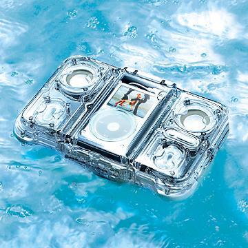 Waterproof iPod Stereo Case