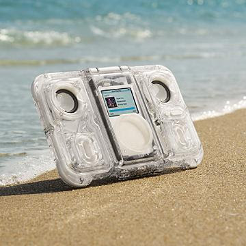 bring your iPod to the shower, beach, pool, park, tailgate party
