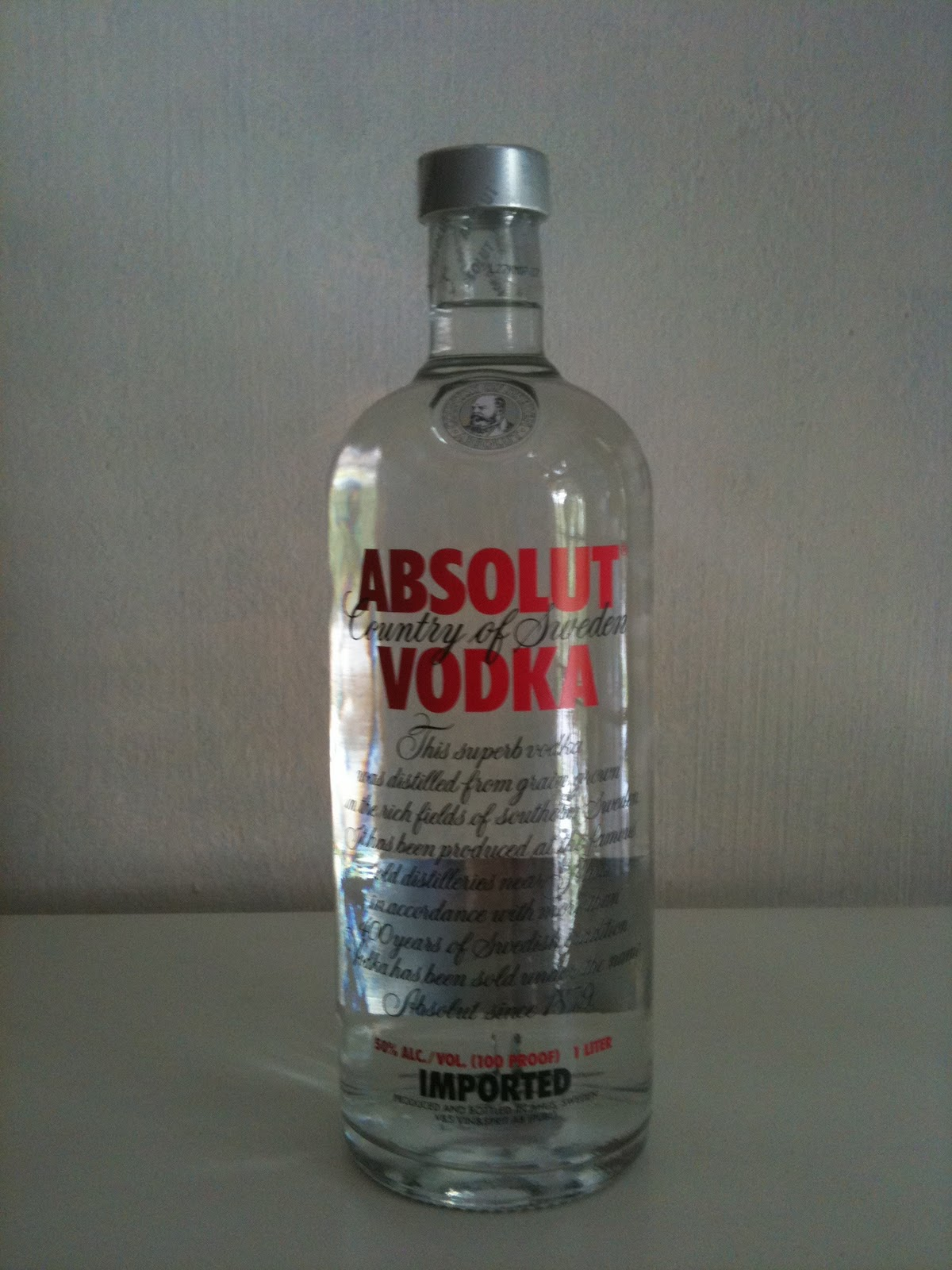 In a Absolut World, Absolut Juz: Absolut Vodka Red Label