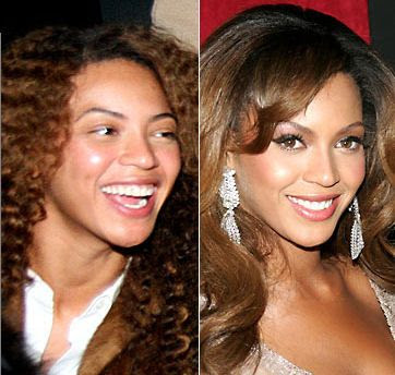 Celebrities+Without+Wearing+Makeup+beyonce