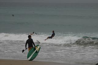 Surfing Great Barrier Island New Zealand