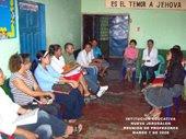 Grupo de profesores y administrativos