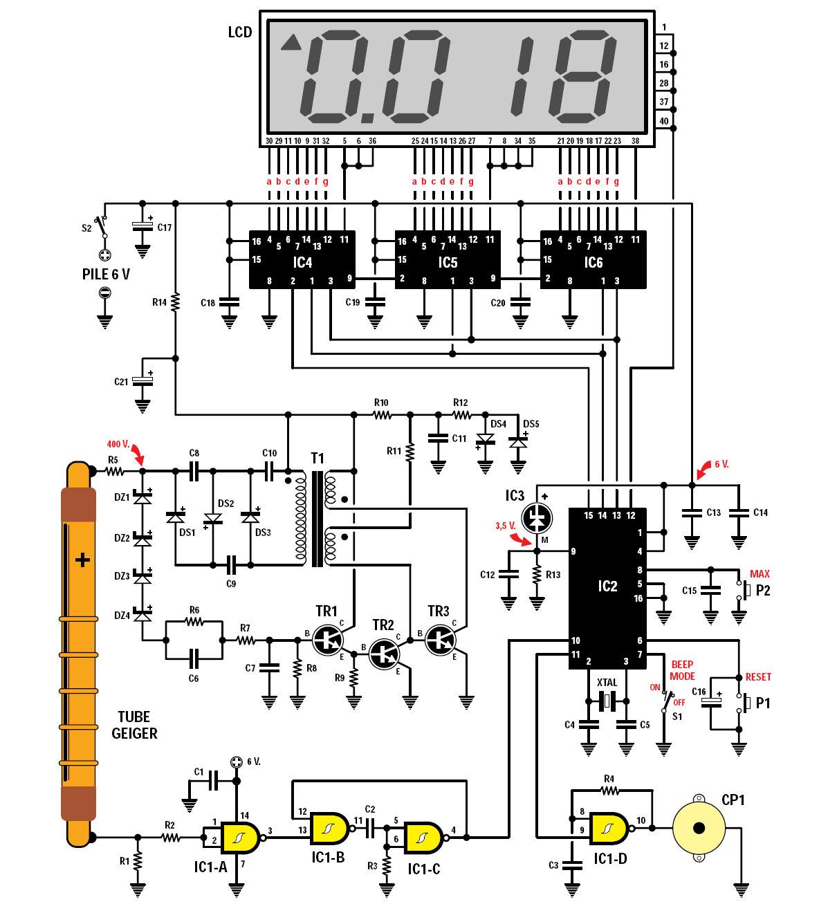 Snl Fart Commercial Magic Mouth Geiger Counter Diagram Figure 5 Of The Microprocessor Ic2 Shows Directly Value Millirntgen Time On Lcd And As You Can See This Is