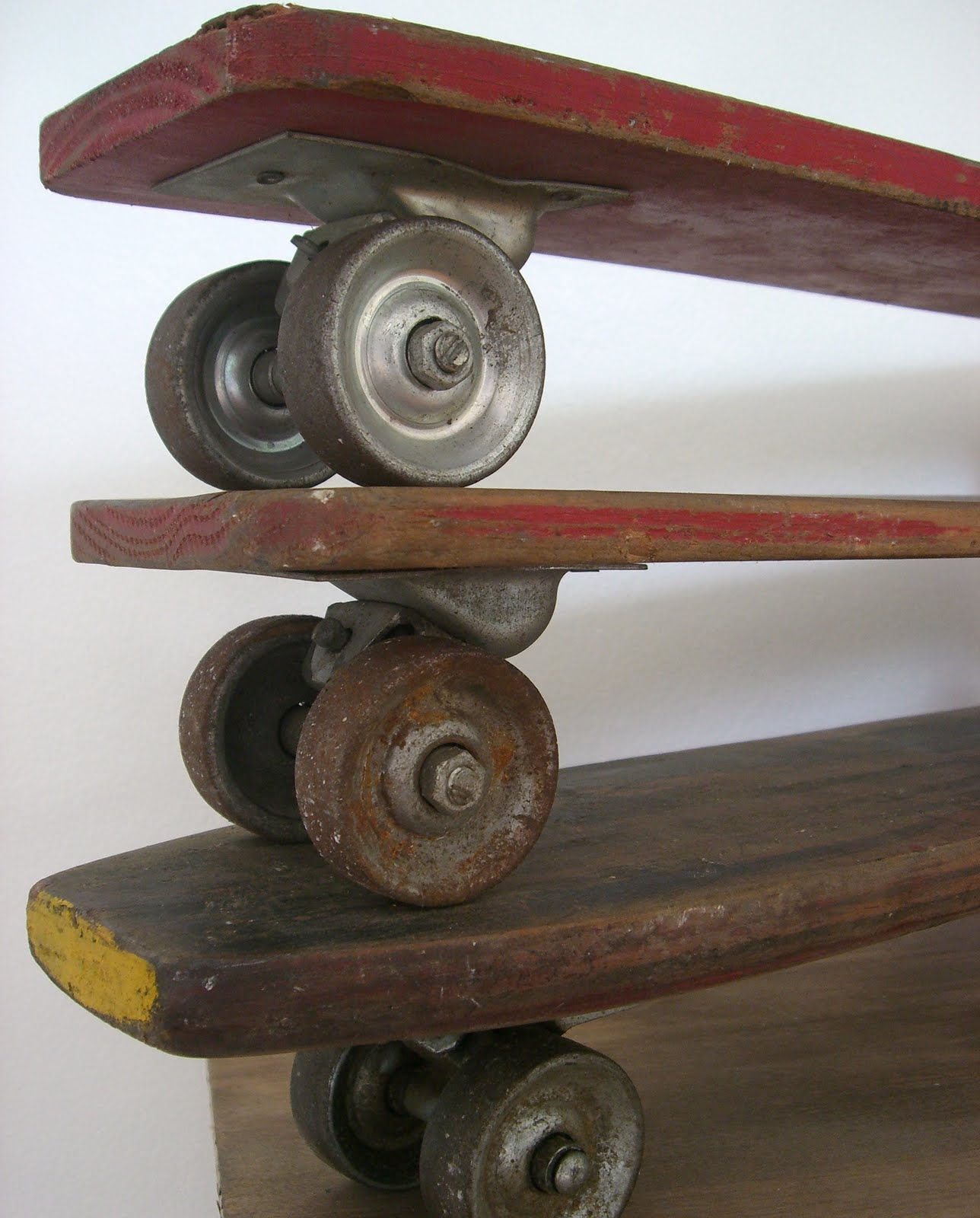 Something vintage skate boards was specially