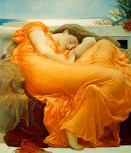 Flaming June - (Junio ardiente), (1830-1896)