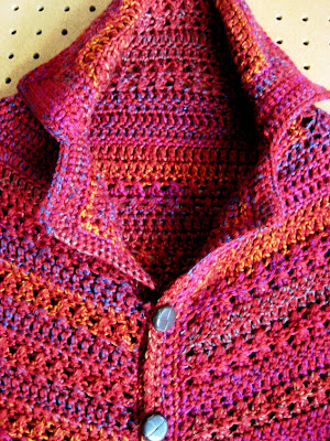 ced992517 L.A. Is My Beat  Top-Down Crocheted Cardigan