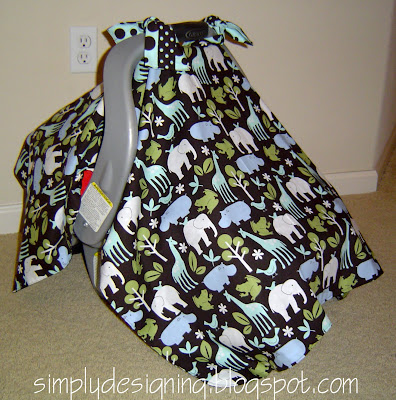 & DIY Car Seat Cover