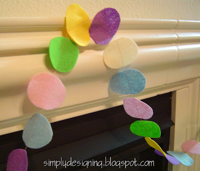 easter+egg+garland+3 The Changing of the Guard...the Easter fun is beginning! 9