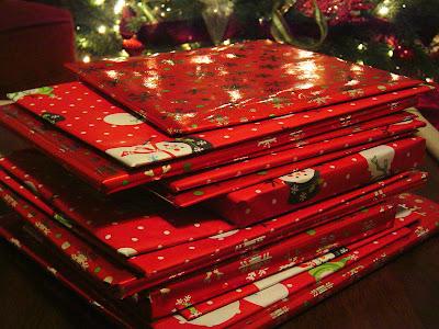 Christmas+Books+wrapped+edited New Christmas Tradition - Christmas Books 9