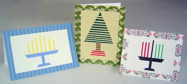Cards+03 DIY Simple Homemade Holiday Cards (Christmas, Hanukkah & Kwanzza) 12