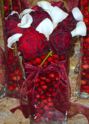 roses+and+calla+lillies Fresh Flowers - Simple Holiday Decor 9