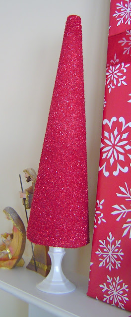 Glitter+Tree+red Glitter Trees 5