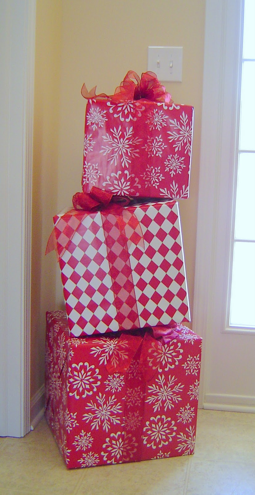 Stacking Gifts Decor