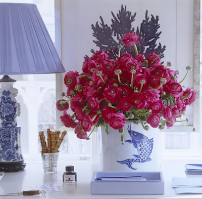 pink flowers in vase Re-Accessorize Your Home with Trendy Colors 10