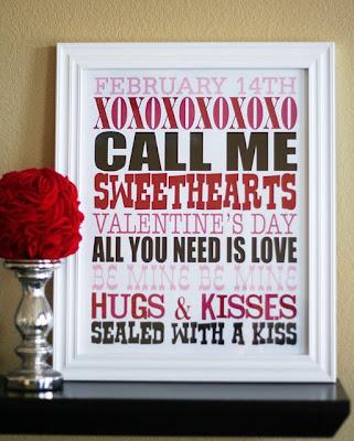 1825+Vday Valentine's Day Subway Art FREE Printables 15
