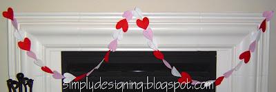 heart+garland+2 Valentine's Day Ideas 9