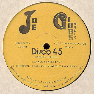 Xanadu & Sweet Lady - Rappers Delight [12'' Vinyl 1979]