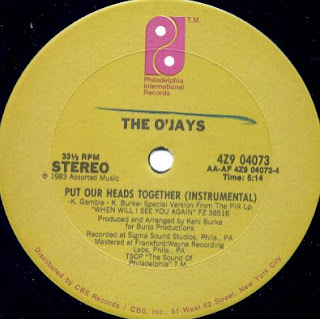 The O'Jays - Put Our Heads Together [12'' Vinyl 1983]