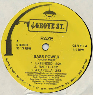 Raze - Bass Power [12'' Vinyl 1991]