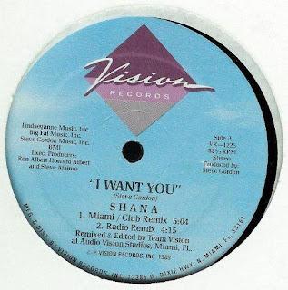 Shana - I Want You [12'' Vinyl 1989]