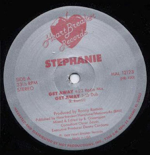 Stephanie - Get Away [12'' Vinyl 1989]