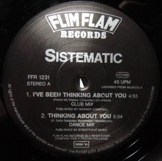 Sistematic - I've Been Thinking About You [12'' Vinyl 1991]