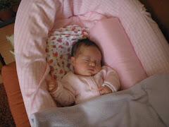 La Antonia  durmiendo