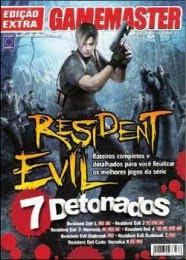 Revista Game Master Resident Evil 7 Detonados