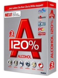 Alcohol 120% 1.9.6.5429 - Portable
