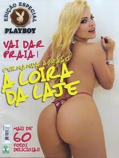 Playboy Especial - Fernanda Abraão: A Loira da Laje - Agosto 2009