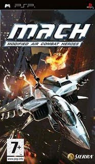 M.A.C.H Modified Air Combat Heroes - PSP