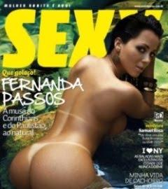 Revista Sexy Fernanda Passos Dezembro 2010