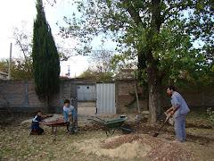 03/05 Construcción del caminito de la escuela