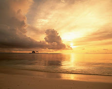 Pôr do sol fantástico
