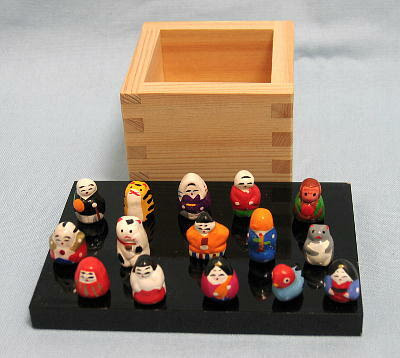 CLICK for more Kyoto Clay Dolls
