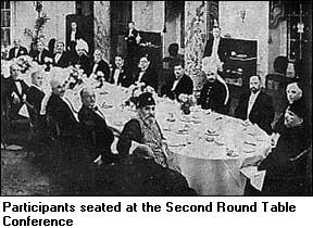 Round Table Conferences 1930 33, What Happened In Second Round Table Conference