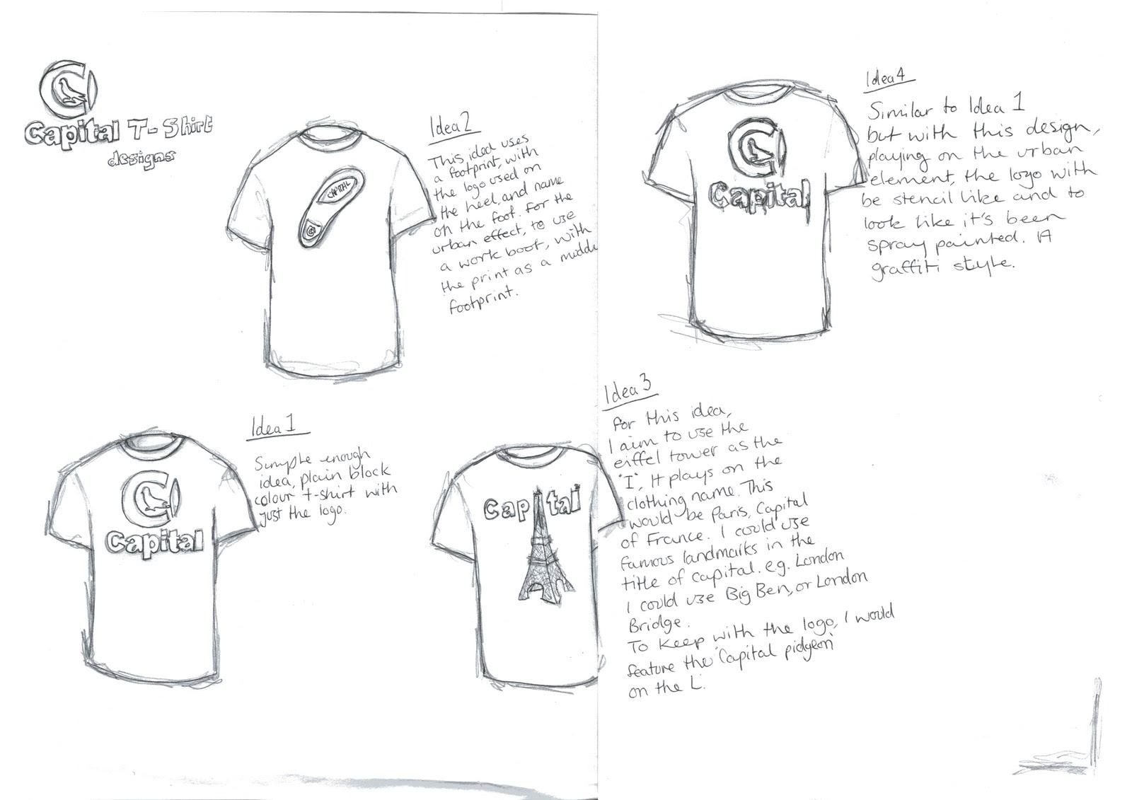 Graphic Design: T shirt designs