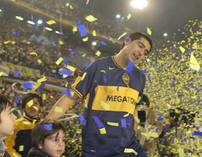 Juan Roman Riquelme 10 el mejor jugador argentino, lejos...